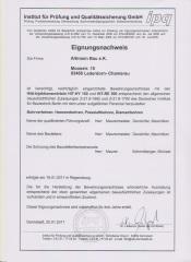 Eignungsnachweis Altmann-Bau e.K. | ipq